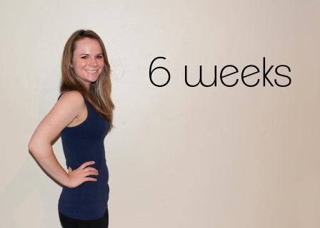 6 weeks!