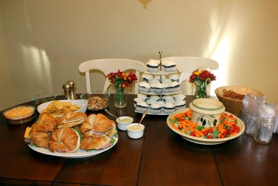 Housewarming table