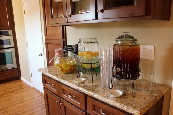 Housewarming drinks