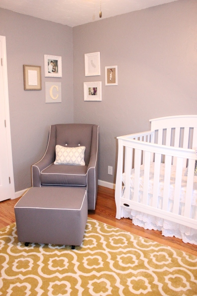 Crib, glider, and corner photo gallery