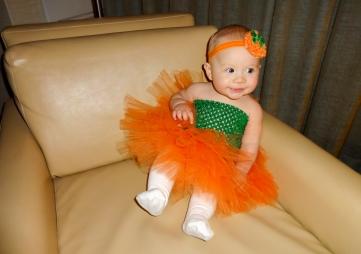 Adorable little pumpkin