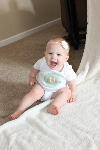 11 Months Claire
