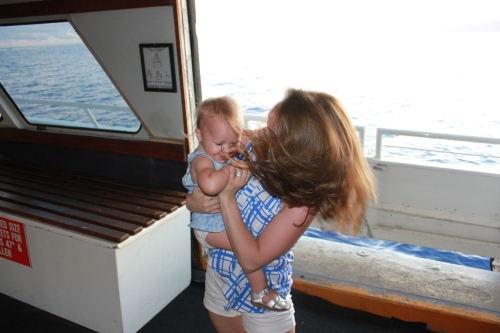 Dancing on the dinner cruise