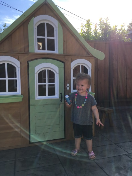 Her amazing playhouse